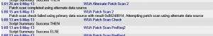 Windows 8 Patch Failure