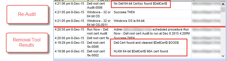 Dell Cert fix